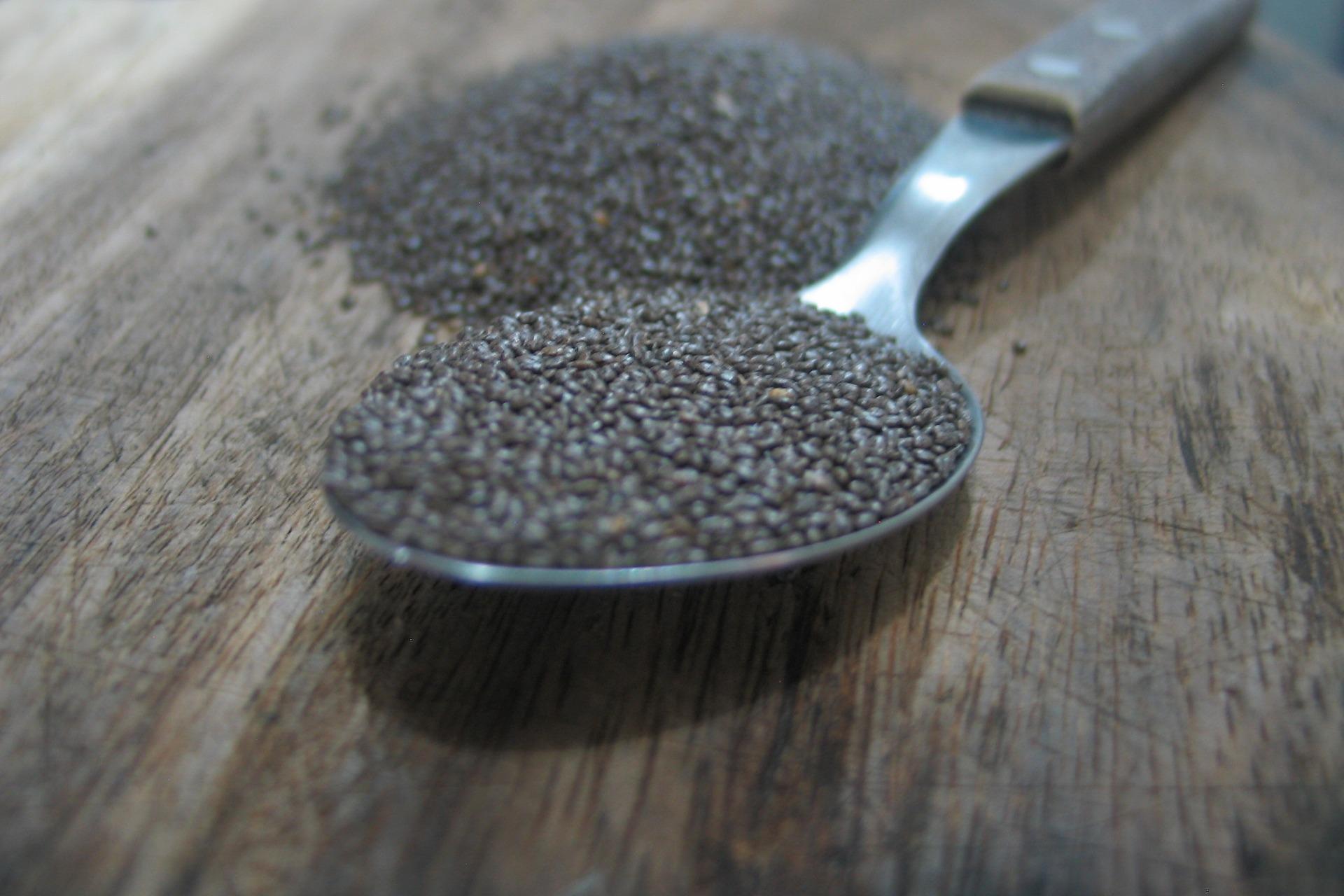 beneficios de la chia, semillas de chia