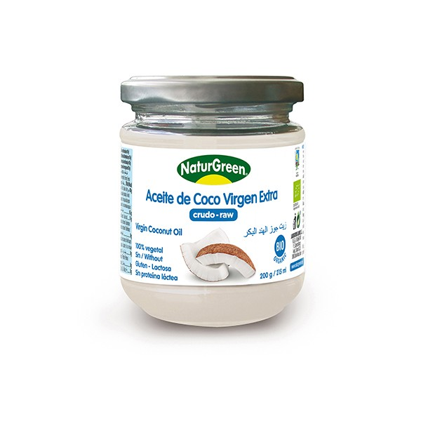 Aceite de coco virgen Natur Green