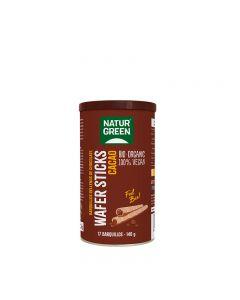 Wafer sticks de cacao Bio 140g NaturGreen