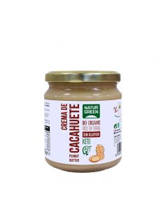 Crema de Cacahuete Bio 330g NaturGreen